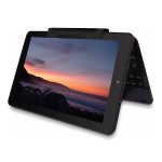 """11.6"""" Android 5.0 Lollipop 2-in-1 32GB Tablet/Laptop with Touchscreen and Detachable Keyboard Black - Refurbished"""