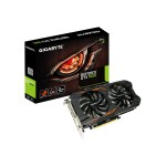 GeForce GTX 1050 Windforce OC 2G - Graphics card - NVIDIA GeForce GTX 1050 - 2 GB GDDR5 - PCIe 3.0 x16 - DVI, DisplayPort, 3 x HDMI