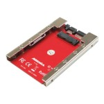 "AD18M25S - Storage bay adapter - 2.5"" to 1.8"""