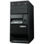 ThinkServer TS150 70LV - Server - tower - 4U - 1-way - 1 x Xeon E3-1225V5 / 3.3 GHz - RAM 8 GB - no HDD - HD Graphics P530 - GigE - no OS - monitor: none - TopSeller