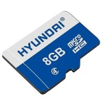 8GB microSDHC Class 4 Retail Flash Memory Card with Adapter