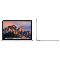 "Apple 15.4"" MacBook Pro with Touch Bar, Quad-Core Intel Core i7 2.6GHz, 16GB RAM, 256GB PCIe SSD, Radeon Pro 450 with 2GB, 10-hour battery life, macOS Sierra, Silver MLW72LL/A"