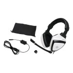 Kaliber Gaming Imperial White Edition Gamer Pack - Desktop accessories bundle