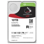 "IronWolf Pro ST10000NE0004 - Hard drive - 10 TB - internal - 3.5"" - SATA 6Gb/s - 7200 rpm - buffer: 256 MB - with  Rescue Data Recovery"
