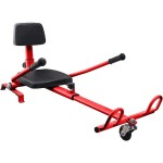 HoverKart Seat - for Balance Scooter - Red