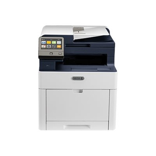 WorkCentre 6515/DNI - Multifunction printer - color - laser - Legal (8.5 in x 14 in) (original) - A4/Legal (media) - up to 25 ppm (copying) - up to 30 ppm (printing) - 300 sheets - 33.6 Kbps - Gigabit LAN, Wi-Fi(n), USB 3.0 - Metered