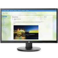 "HP Inc. V244a - LED monitor - 23.8"" (23.8"" viewable) - 1920 x 1080 Full HD (1080p) - VA - 250 cd/m² - 3000:1 - 7 ms - HDMI, DVI-D, VGA - speakers - black (bezel) - promo Z8W49A6#ABA"