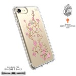 Presidio Clear + Print iPhone 7 Cases - Golden Blossoms Pink/Clear