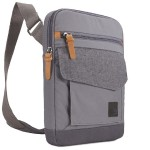 LoDo - Shoulder bag for tablet - cotton canvas - graphite