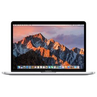 "Apple 13"" MacBook Pro, Dual-Core Intel Core i7 2.4GHz, 16GB RAM, 512GB PCIe SSD, Intel Iris Graphics 540, 10-hour battery life, macOS Sierra, Silver Z0SY-2.4-16-512IR540"