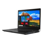 "Portégé A30-C - Core i5 6200U / 2.3 GHz - Win 10 Pro 64-bit - 8 GB RAM - 500 GB HDD - 13.3"" touchscreen 1920 x 1080 (Full HD) - HD Graphics 520 - Wi-Fi - graphite black metallic - kbd: US"
