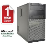 Optiplex 7010 Tower Core i5-3470 3.2GHz 4GB RAM, 500GB HD, DVD+/-RW, Windows 10 Professional 64bit Refurbished