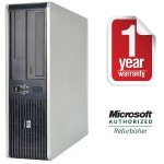 dc7900 Intel Core 2 Duo E8400 3.0GHz Small Form Factor Desktop - 4GB RAM, 160GB HDD, DVD-ROM, Gigabit Ethernet - Refurbished