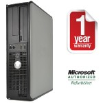 OptiPlex 330 Intel Celeron Dual-Core D-430 1.80GHz Desktop - 2GB RAM, 80GB HDD, CD-ROM, Gigabit Ethernet - Refurbished