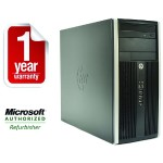 6200 Pro Intel Core i5-2400 Quad-Core 3.10GHz Micro Tower PC - 4GB RAM, 250GB HDD, DVD+/-RW, Gigabit Ethernet - Refurbished