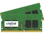DDR4 - 16 GB: 2 x 8 GB - SO-DIMM 260-pin - 2400 MHz / PC4-19200 - CL17 - 1.2 V - unbuffered - non-ECC