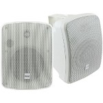 "5.25"" Indoor/Outdoor 600-Watt Bluetooth Speaker System (White)"