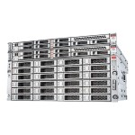 Database Appliance X6-2-HA - 2 nodes - cluster - rack-mountable - 2-way - 2 x Xeon E5-2630V4 / 2.2 GHz - RAM 256 GB - SSD 2 x 480 GB + 10 x 1.2 TB, 4 x 200 GB - GigE, InfiniBand -  Linux - monitor: none