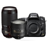 D610 DSLR Camera with 24-85mm and 70-300mm Lenses