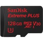 128GB Extreme PLUS UHS-I microSDXC Memory Card