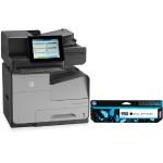 Officejet Enterprise Color Flow X585z Multifunction Printer with HP 980 Black Original Ink Cartridge