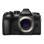 OM-D E-M1 Mark II - Digital camera - mirrorless - 20.4 MP - Four Thirds - 4K / 24 fps - body only - Wi-Fi - black