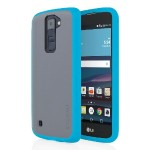 Octane Co-Molded Impact Absorbing Case for LG K8 - Frost/Blue