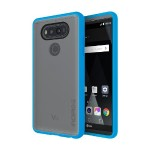 Octane Co-Molded Impact Absorbing Case for LG V20 - Cyan/Frost