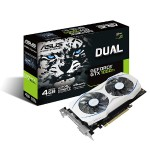 NVIDIA Geforce Dual GTX 1050 Ti 4GB Dual-Fan Edition DVI-D HDMI DP 1.4 Gaming Graphics Card