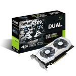 NVIDIA Geforce Dual GTX 1050 Ti 4GB Dual-Fan Edition DVI-D HDMI DP 1.4 Gaming Graphics Card