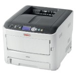 C612dn - Printer - color - Duplex - LED - A4 - 1200 x 600 dpi - up to 36 ppm (mono) / up to 34 ppm (color) - capacity: 400 sheets - USB 2.0, Gigabit LAN, USB 2.0 host