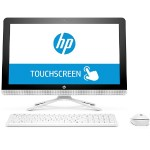 "HP Inc. 22-b058 AMD Quad-Core A6-7310 APU 2.0GHz All-in-One PC - 8GB RAM, 1TB HDD, 21.5"" FHD IPS WLED Touch, SuperMulti DVD, Gigabit Ethernet, 802.11b/g/n, Bluetooth, Webcam, White - Refurbished V8P84AAR#ABA"