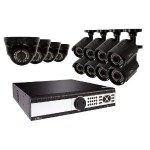 32-Channel 1080p 8TB Video Surveillance System with 4 Dome Cameras and 8 Bullet Cameras