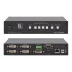 VS-41HDCP - Video switch - managed - 4 x DVI - desktop