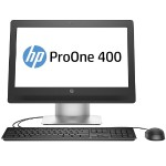 "ProOne 400 G2 Intel Core i3-6100 Dual-Core 3.70GHz All-in-One PC - 4GB RAM, 500GB HDD, 20"" HD+ LED, SuperMulti DVD, Gigabit Ethernet"