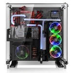 Core P5 Tempered Glass Edition ATX Wall-Mount Chassis - Black