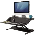 Lotus Sit-Stand Workstation - Black