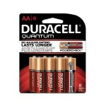 1.5 Volt DC Multipurpose Alkaline AA Battery - 8/Pack