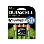 StayCharged NiMH Rechargeable AA Batteries - 4 / Pack