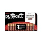 1.5 Volt DC 2400 Series Quantum AAA Alkaline Batteries - 16/Pack