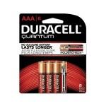 1.5 Volt DC 2400 Series Quantum AAA Alkaline Batteries - 8/Pack