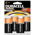 1.5 Volt DC Multipurpose Alkaline C Size Battery - 4/Pack