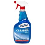 Trigger Spray Glass Cleaner - Ready-To-Use Spray - 0.25 gal (32 fl oz) - 12 / Carton