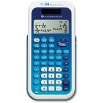 TI-34 MultiView - Scientific calculator - solar panel, battery