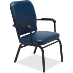 Fixed Arms Vinyl Oversized Stack Chairs