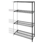 Industrial Adjustable Wire Shelving Add-On-Unit