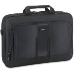 "Carrying Case (Briefcase) for 17.3"" Notebook - Black"