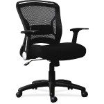 Flipper Arm Mid-back Chair