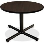 Hospitality Espresso Laminate Round Tabletop