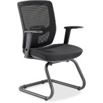 Variable-Resist Lumbar Guest Chair with Arms